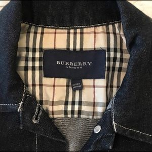 Burberry denim jacket